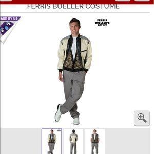 Ferris bueller 80's costume men's shoes too